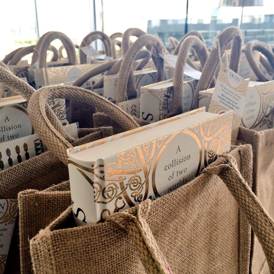 Nice looking rustic bags
